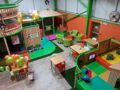 Monkey Mania, indoor softplay in Ludlow