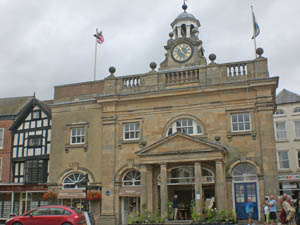 Ludlow Museum housed at Ludlow Assembly Rooms