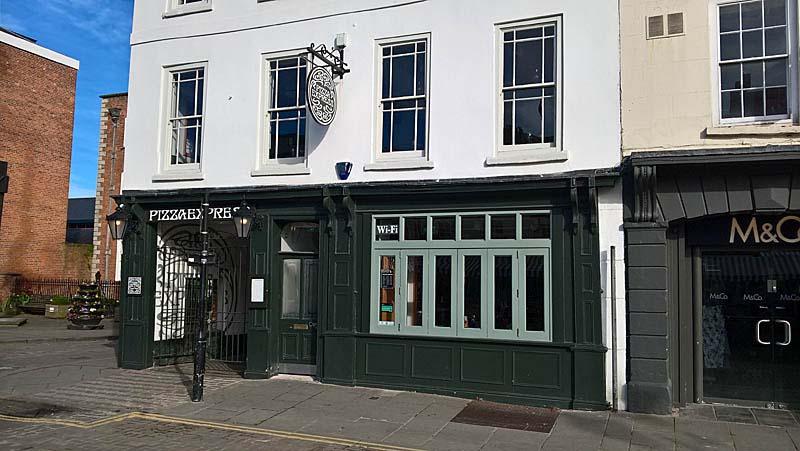 Pizzaexpress Ludlow Shropshire