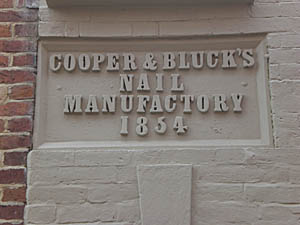 Cooper & Bluck's Nail Factory