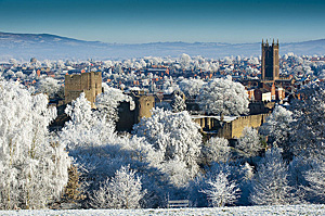 Ludlow in winter